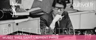 Musée Yves Saint Laurent Paris - Billet d'entrée