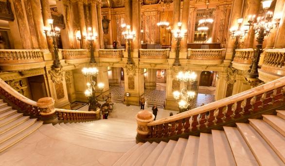 Le Palais Garnier, un chef d'oeuvre architectural
