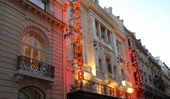 Les coulisses d'un théâtre parisien
