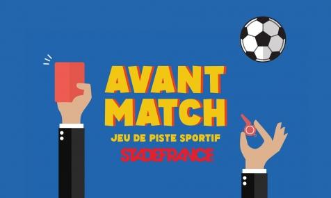 Avant-Match, jeu de piste sportif au Stade de France