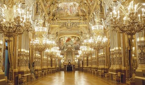 Le Palais Garnier, un chef d'œuvre architectural - tarifs 2019