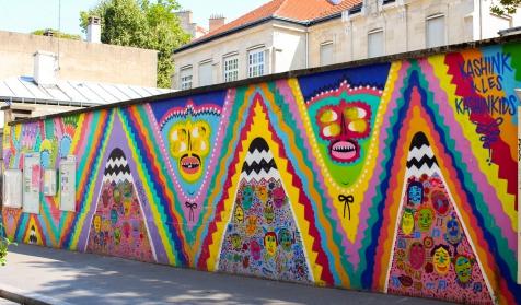 Paris Street Art à la Butte-aux-Cailles
