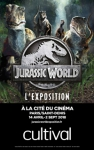 Expo Jurassic World - billet coupe-file + audioguide