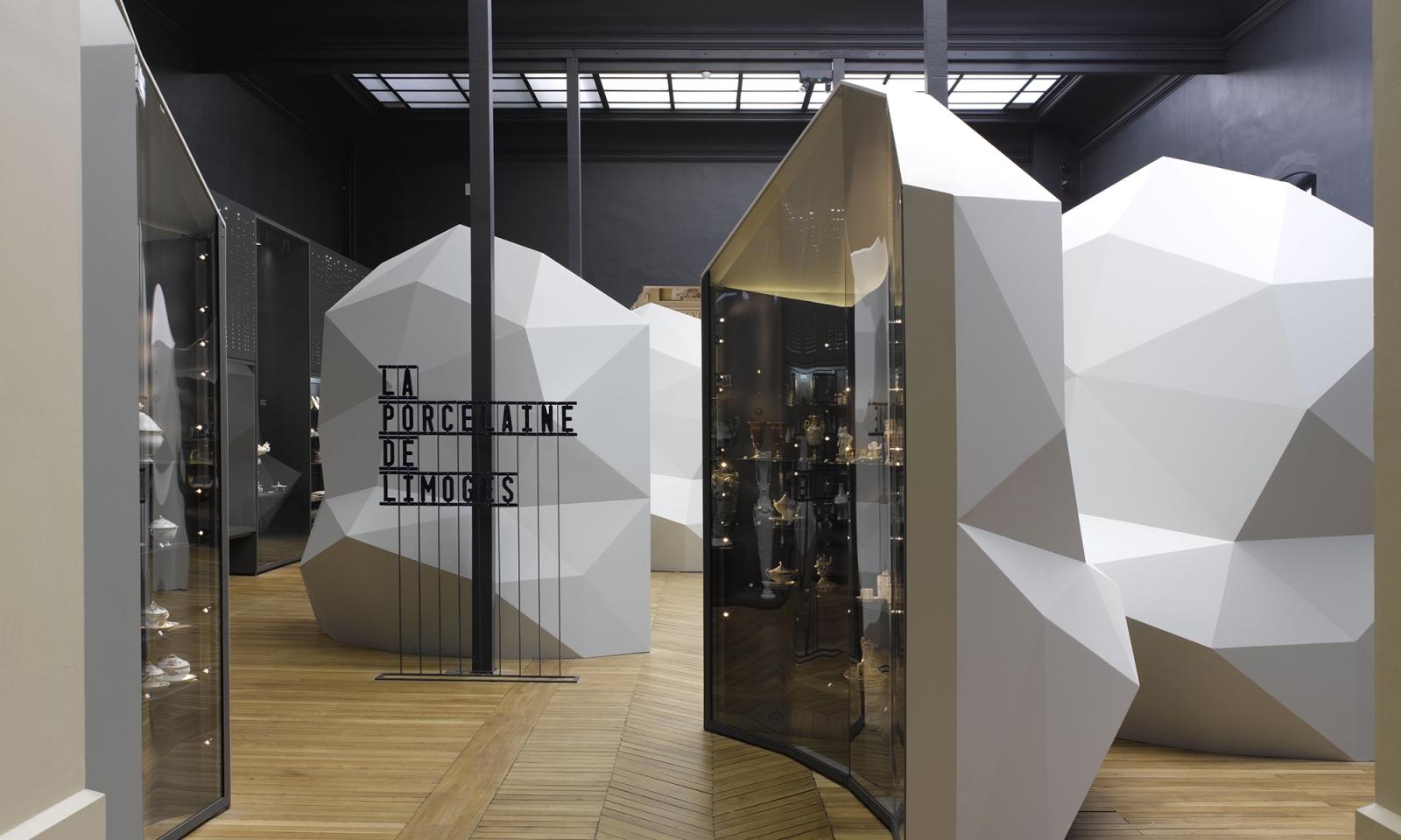 Musée national Adrien Dubouché, Limoges : vue de la salle consacrée à l